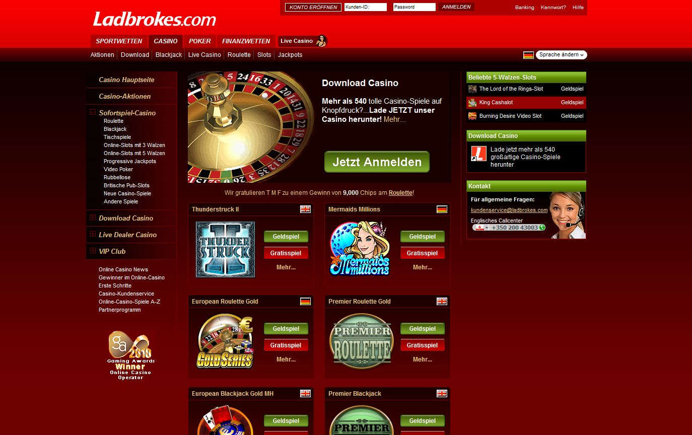 Coral Gala ladbroeks bet365 internet site Performance